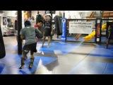 Доминик Круз тренируется с Россом Пирсоном